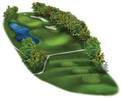 Graphic of Gof Hole 1